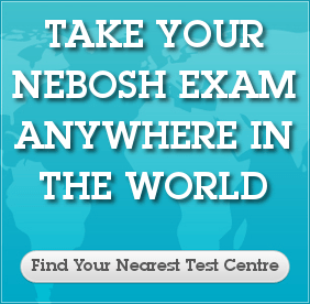 Take your NEBOSH exam anywhere in the world