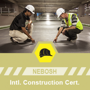 NEBOSH International Construction Certificate course